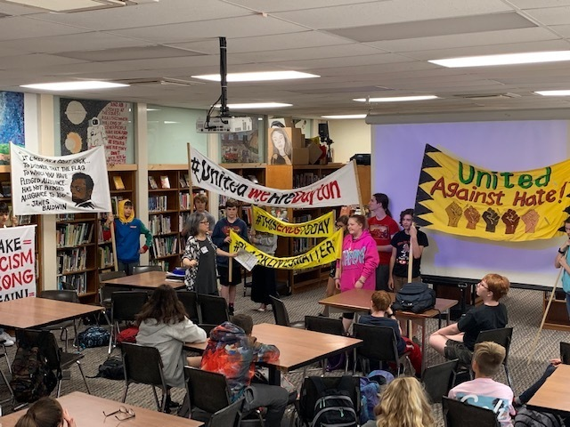 McKinney 8th Graders Explore Power of Protest