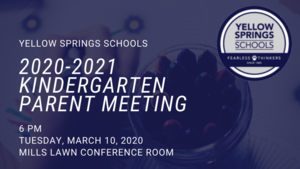 Mills Lawn Hosts 2020-2021 Kindergarten Parent Meeting