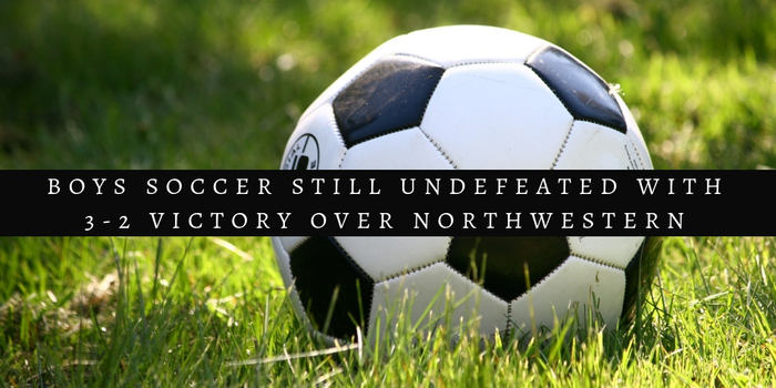 Boys Soccer vs. NW