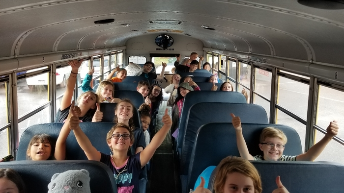 5th and 6th grade are going to camp.