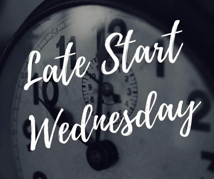 Late Start Wednesday Sept. 19