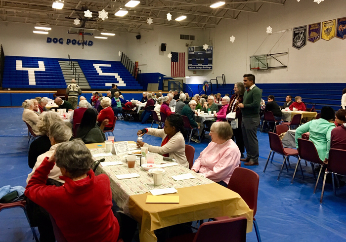 Senior Citizens enjoyed the 38th annual Senior Citizens Lunch.