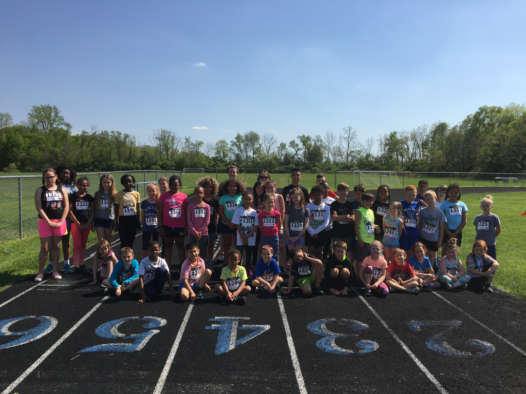 Mills Lawn students participated in the Fastest Bulldog event.