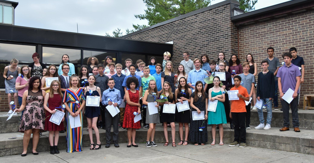 Congratulations to the Class of 2023 on their 8th grade graduation!