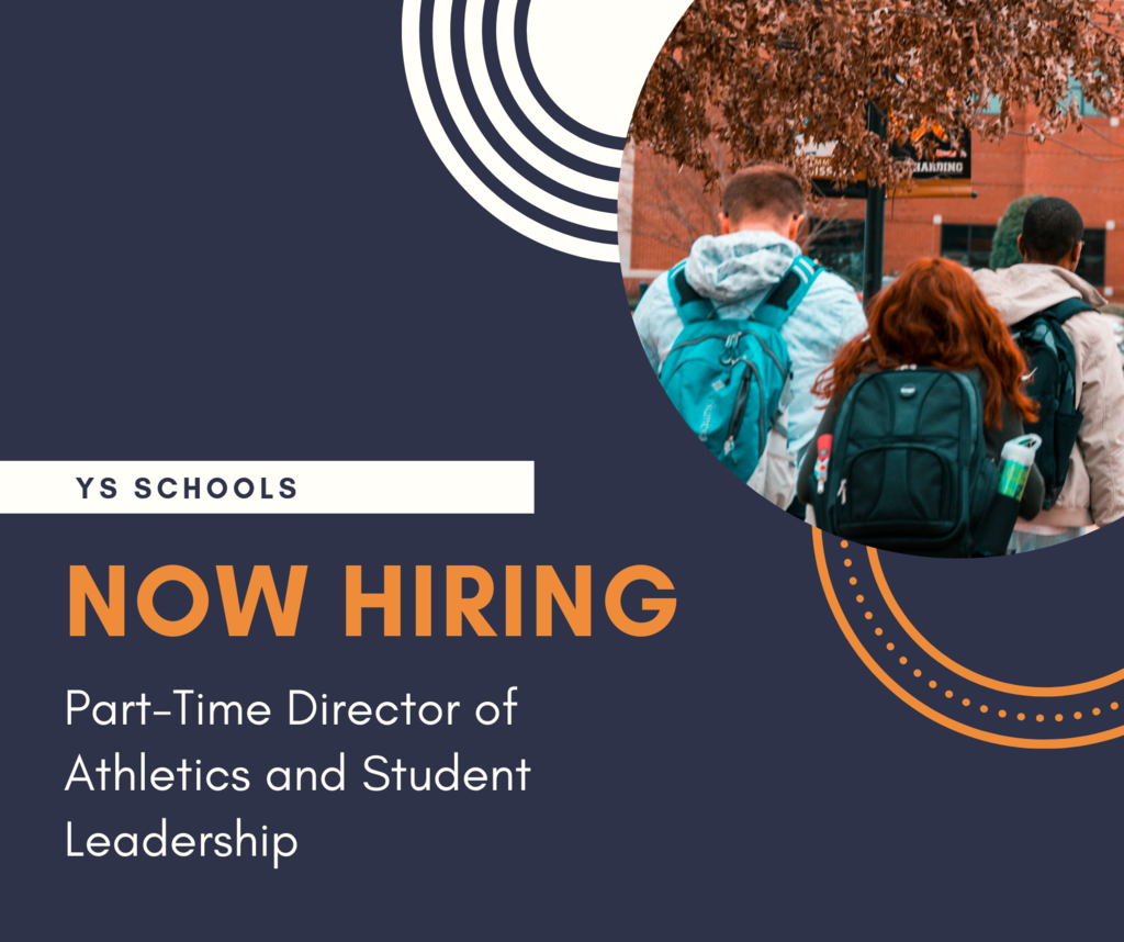YS Schools anticipates an opening for a part-time Director of Athletics and Student Leadership for the 2019-2020 school year. Details and how to apply at  https://5il.co/8n61. #FearlessThinkers #GoBulldogs