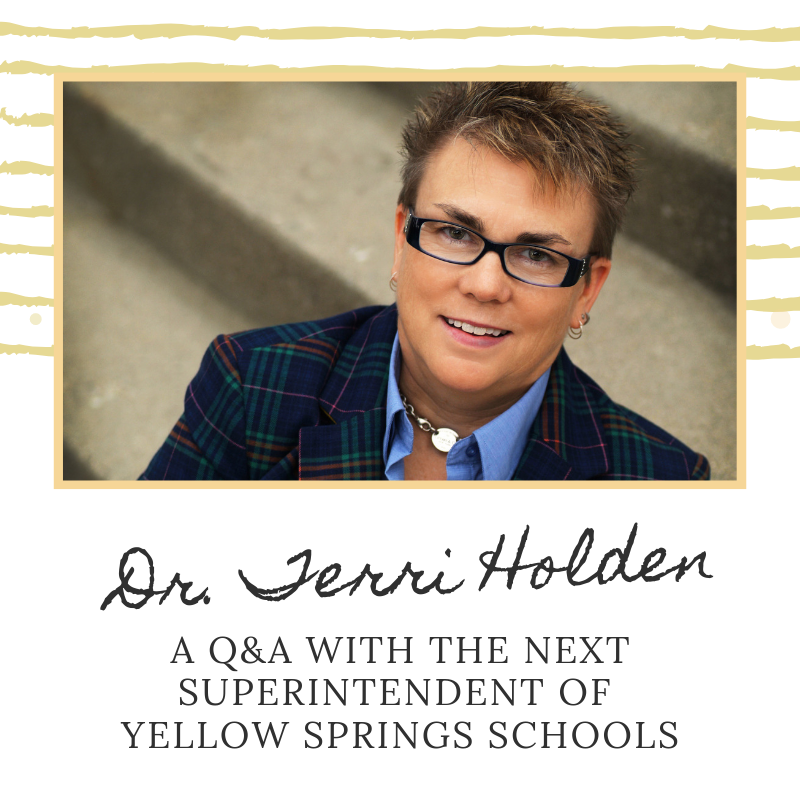 What one word best describes Dr. Terri Holden? Find out in our Q&A with the new superintendent of YS Schools at http://www.ysschools.org/article/117592?org=yellow-springs-sd. #FearlessThinkers