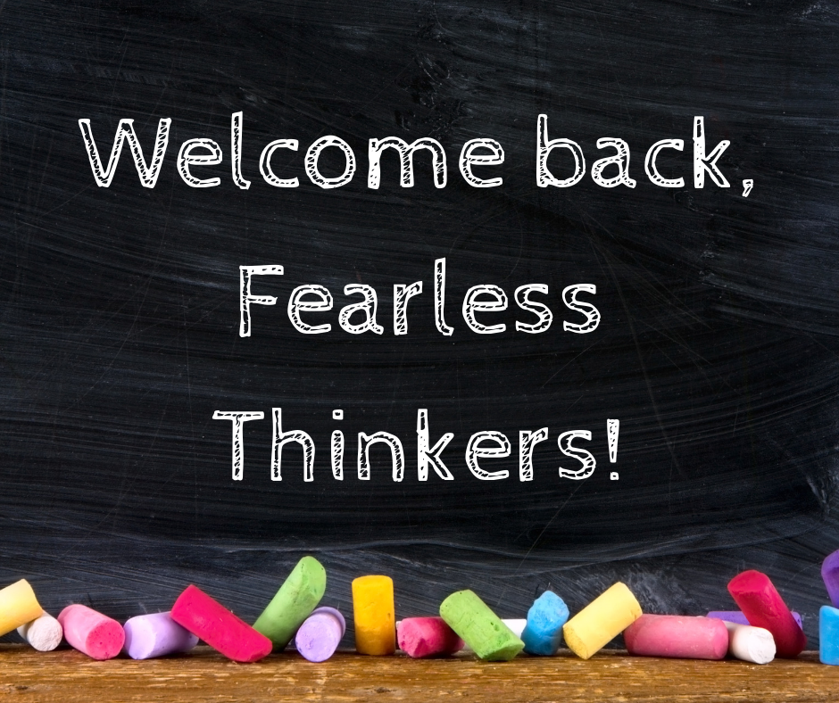 Welcome back to YS Schools, #FearlessThinkers! We're looking forward to a great year with you!