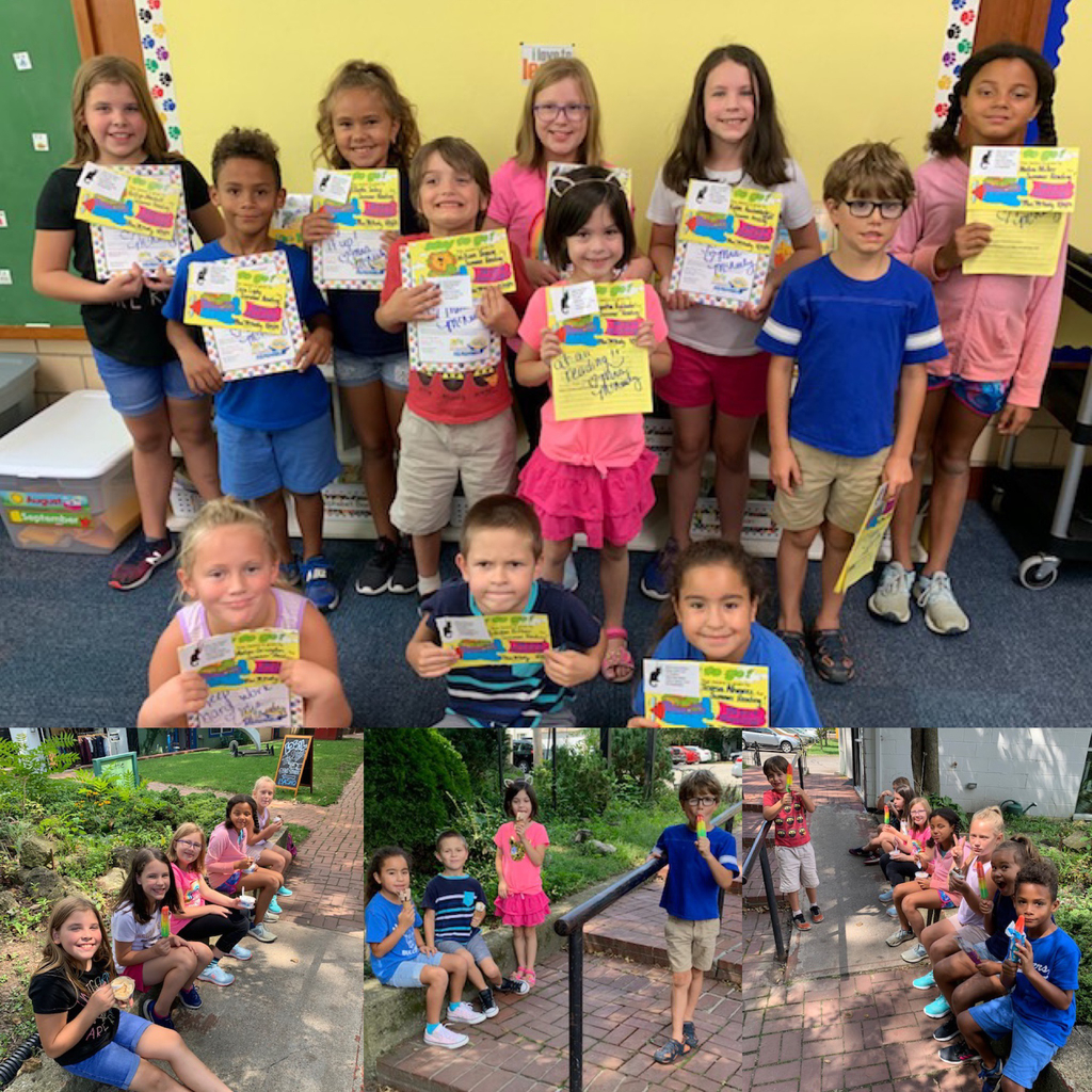Mrs. McNeely's Fearless Readers completes the Summer Reading Program.