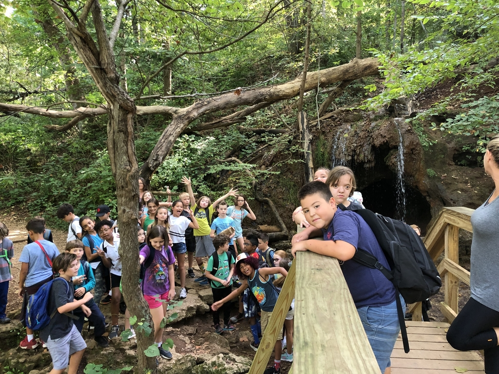 Fifth grade students enjoyed a hike and Raptor Center field trip on Tuesday, Sept. 10.