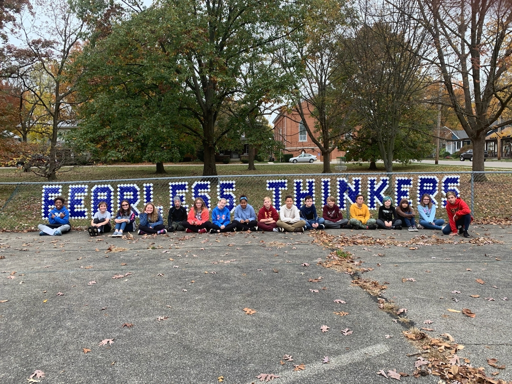 Loving our new #FearlessThinkers fence art!