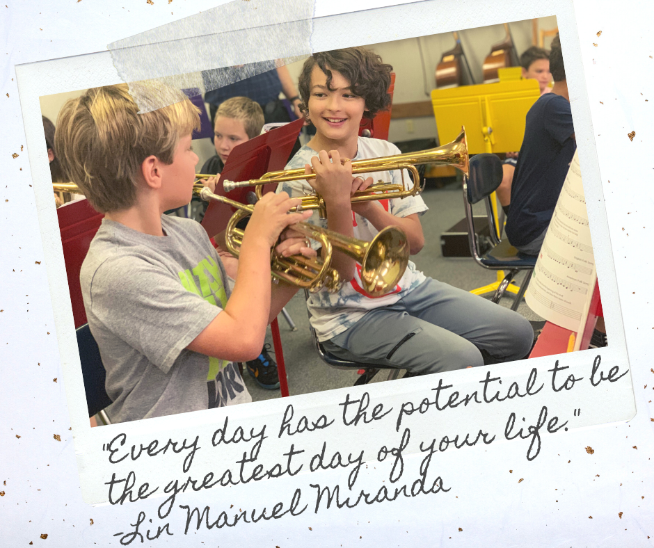 """Every day has the potential to be the greatest day of your life.""  –Lin Manuel Miranda #MotivationMonday #FearlessThinkers"