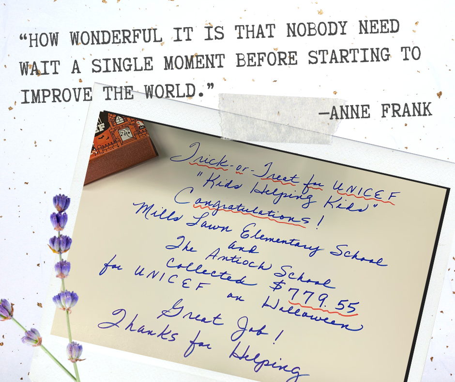 """How wonderful it is that nobody need wait a single moment before starting to improve the world.""  ―Anne Frank #MotivationMonday"