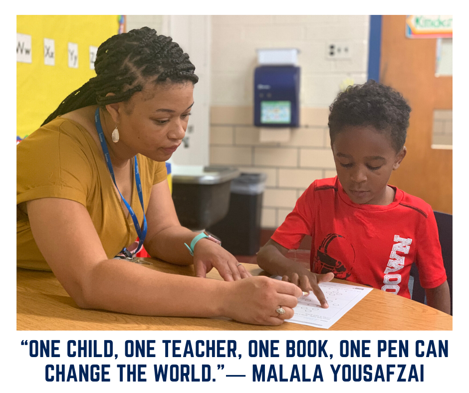 """One child, one teacher, one book, one pen can change the world.""― Malala Yousafzai  #MotivationMonday #FearlessThinkers"