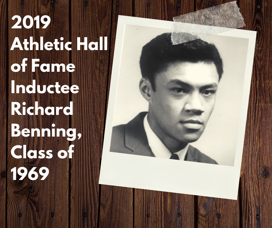 Congratulations to Mr. Richard Benning, Class of 1969, who will be inducted in the 2019 Class of the YS Athletics Hall of Fame.