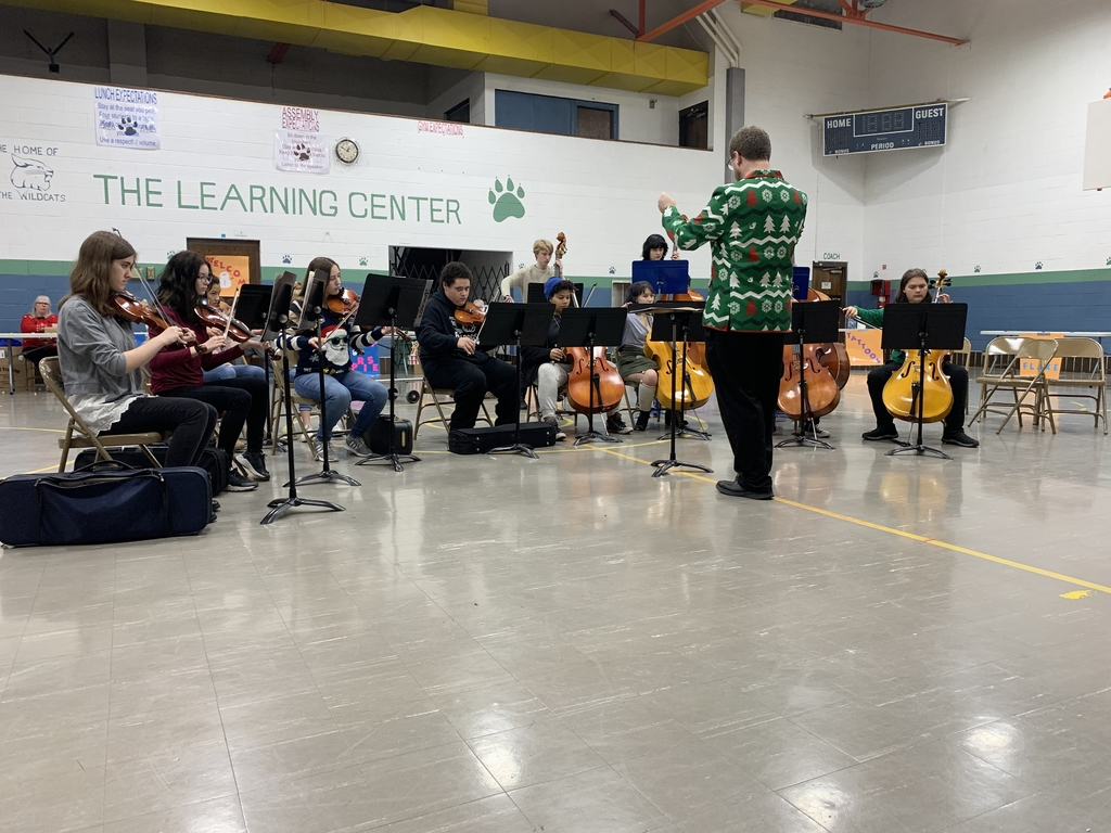 The Yellow Springs Orchestra performed on Thursday for students and staff at the Greene County Learning Center.